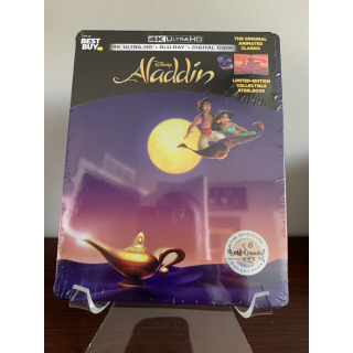 Disney's Aladdin 1992 4K Digital Code Only – Movies Anywhere/Vudu Only