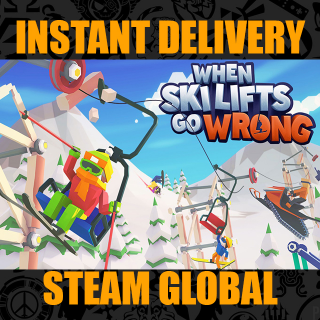 When Ski Lifts Go Wrong | INSTANT DELIVERY STEAM GLOBAL