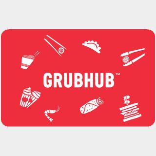 $15.00 GrubHub
