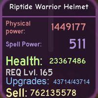Gear | Riptide Warrior Helmet