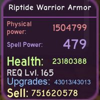 Gear | Riptide Warrior Armor