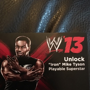 "PS3 WWE '13 ""Iron"" Mike Tyson playable superstar DLC"