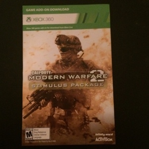 Call of Duty MW2 Stimulus Package (Map Pack)