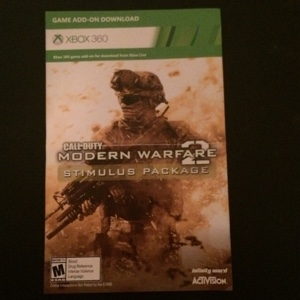 COD MW2 Stimulus Package Map Pack *Add On Content*