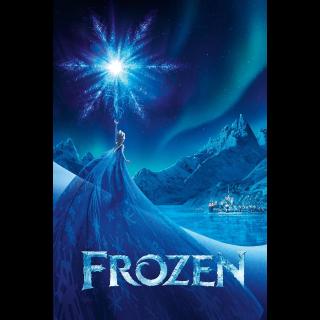 Frozen iTunes Digital Code HD