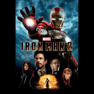 Marvel's Iron Man 2 iTunes Digital Code