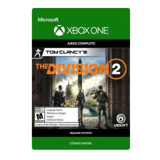 THE DIVISION 2 XBOX ONE KEY GLOBAL