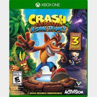 Crash Bandicoot  N Sane Trilogy Xbox One Key United States Region