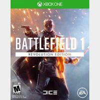 Battlefield 1 Revolution & Battlefield 1943 XBOX CD KEY