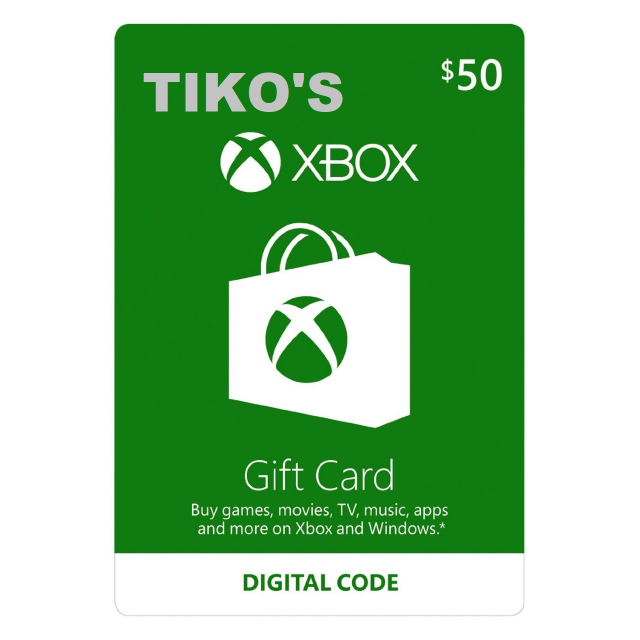 Xbox 50 Usd Gift Card Instant Digital Delivery Cards Flip