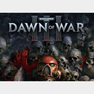 [INSTANT] Warhammer 40,000: Dawn of War III - Global Steam Key