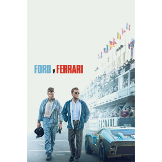 [Instant] Ford v Ferrari (Movies Anywhere/VUDU/Google Play/Prime Video/iTunes)