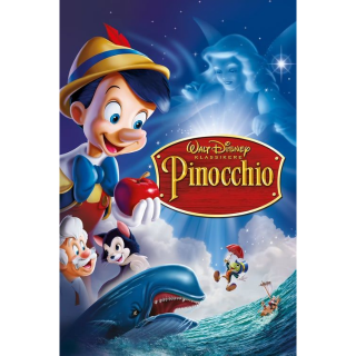 [Instant] Pinocchio (Movies Anywhere/iTunes/VUDU/Google Play/Prime Video)