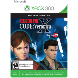 [Instant] Resident Evil CODE: Veronica X HD (Xbox 360)