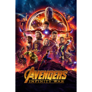[Instant] Avengers: Infinity War (Movies Anywhere/iTunes/VUDU/Google Play)