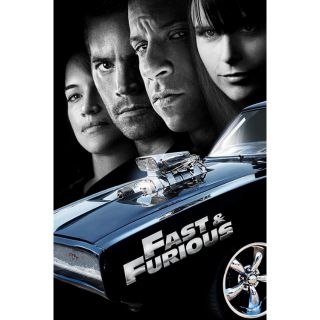 [Instant] Fast & Furious (VUDU/iTunes)