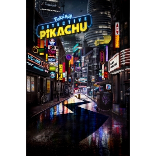 [Instant] Pokémon Detective Pikachu (Movies Anywhere/ VUDU/iTunes/Amazon Video/Google Play)