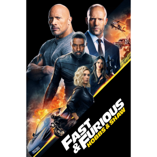 [Instant] Fast & Furious Presents: Hobbs & Shaw (Movies Anywhere/VUDU/Google Play/iTunes/Prime Video)