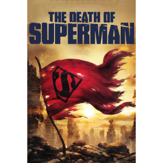 [Instant] The Death of Superman (Movies Anywhere/VUDU)