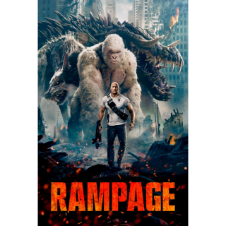 [Instant] Rampage (Movies Anywhere/VUDU/iTunes/Amazon Video/Google Play)