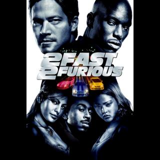 [Instant] 2 Fast 2 Furious (VUDU/iTunes)