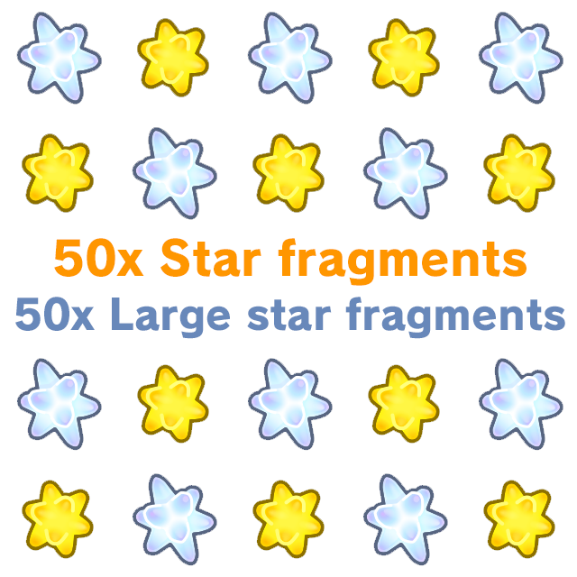 Resource | Star+Large fragments