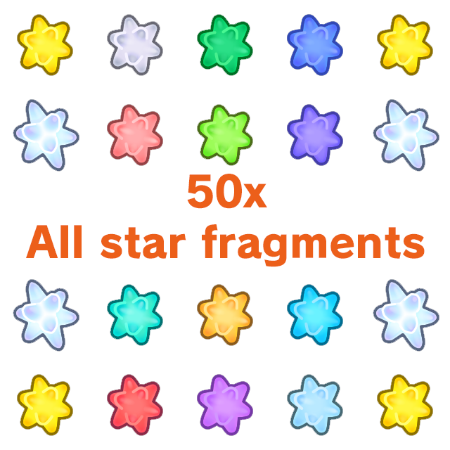 Resource | All star fragments 50x