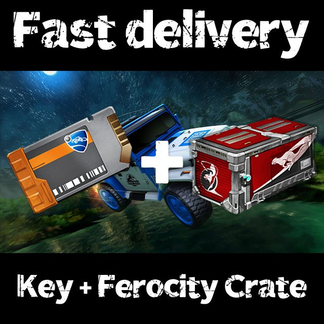 Bundle | 50x Key + 50x Ferocity Crate