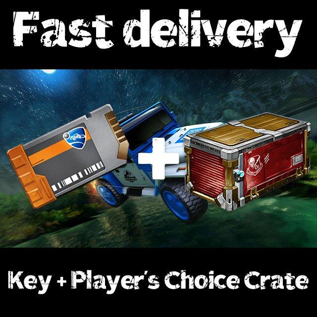 Bundle   233x key + 233x Player's Choice Crate