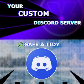 I will Professional Discord Server ✅