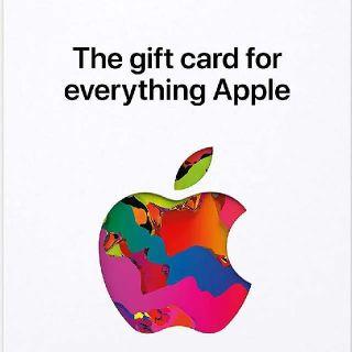 $25.00 Apple Gift Card
