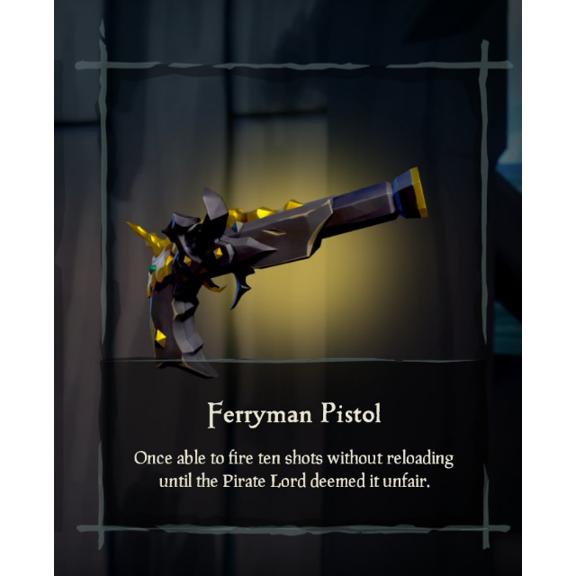 Sea of Thieves Ferryman Clothing Set (In-Game DLC Items) + 1