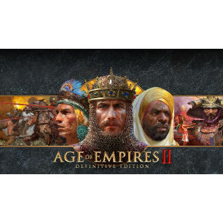 Age of Empires 2 II Definitive Edition Steam KEY Global