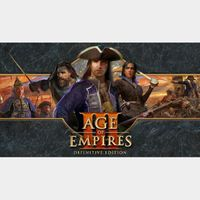 Age of Empires III 3 - Definitive Edition Steam Key Global