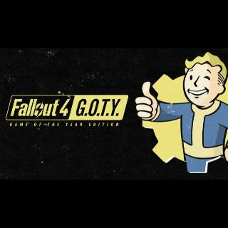 Fallout 4 GOTY Steam KEY Global