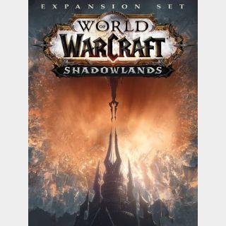World of Warcraft: Shadowlands Battle.net Key US