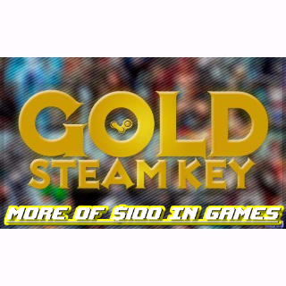 12 Gold Steam Games + Bonus ($100 or more worth) / AAA game included..