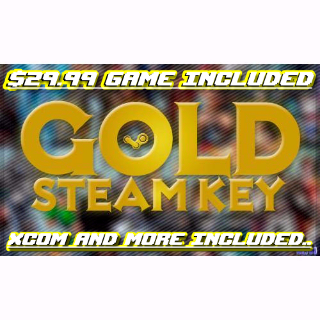 12 Gold Epic Steam Games + Bonus ($100 or more worth) / Online game included..