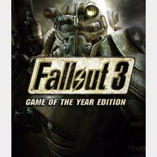 Fallout 3 Game of the Year Edition STEAM CD-KEY Global