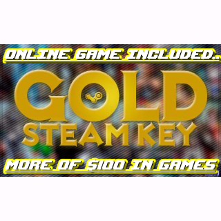 13 Gold TOP Keys ($100+) - Xcom & Online game included..