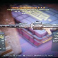 Weapon   Fur 25 Vats15 LMG