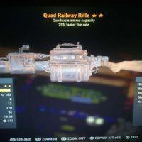 Weapon   Quad25 Railway Rifle
