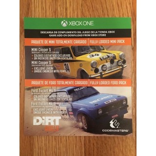 Dirt Rally - Fully Loaded Mini and Ford DLC Packs Xbox One