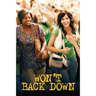 Won't Back Down - Ultraviolet HD