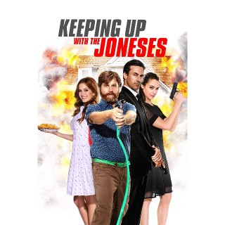 Keeping Up with the Joneses - Ultraviolet OR iTunes HD