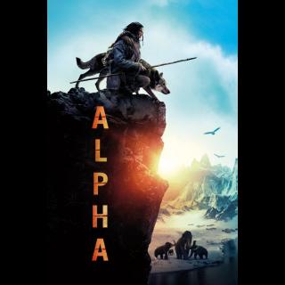 Alpha  -VUDU SD or iTunes SD via MA