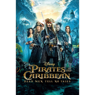 Pirates of the Caribbean: Dead Men Tell No Tales HD Code