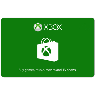 $30.00 Xbox Gift Card (USA) - Great discount! ( Custom Value Gift Card available also )