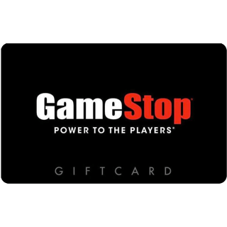 $70.00 Gamestop Gift Card (USA) - Great discount! ( Custom Value Gift Card available also )