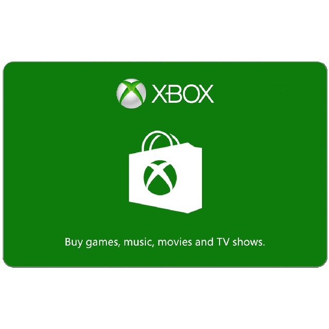 $50.00 Xbox Gift Card (USA) - Great discount! ( Custom Value Gift Card available also )